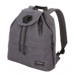 Рюкзак WENGER 5332424403, 13, cерый, ткань Grey Heather/ полиэстер 600D PU , 33х13х39 см, 16 л