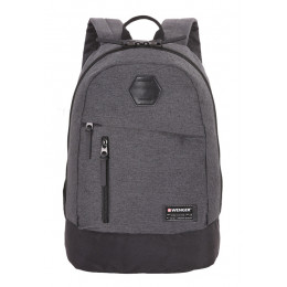 Рюкзак WENGER 5319424422, 13, cерый, ткань Grey Heather/ полиэстер 600D PU , 32х16х45 см, 22 л
